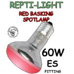 Red Basking Spotlamps 60w ES